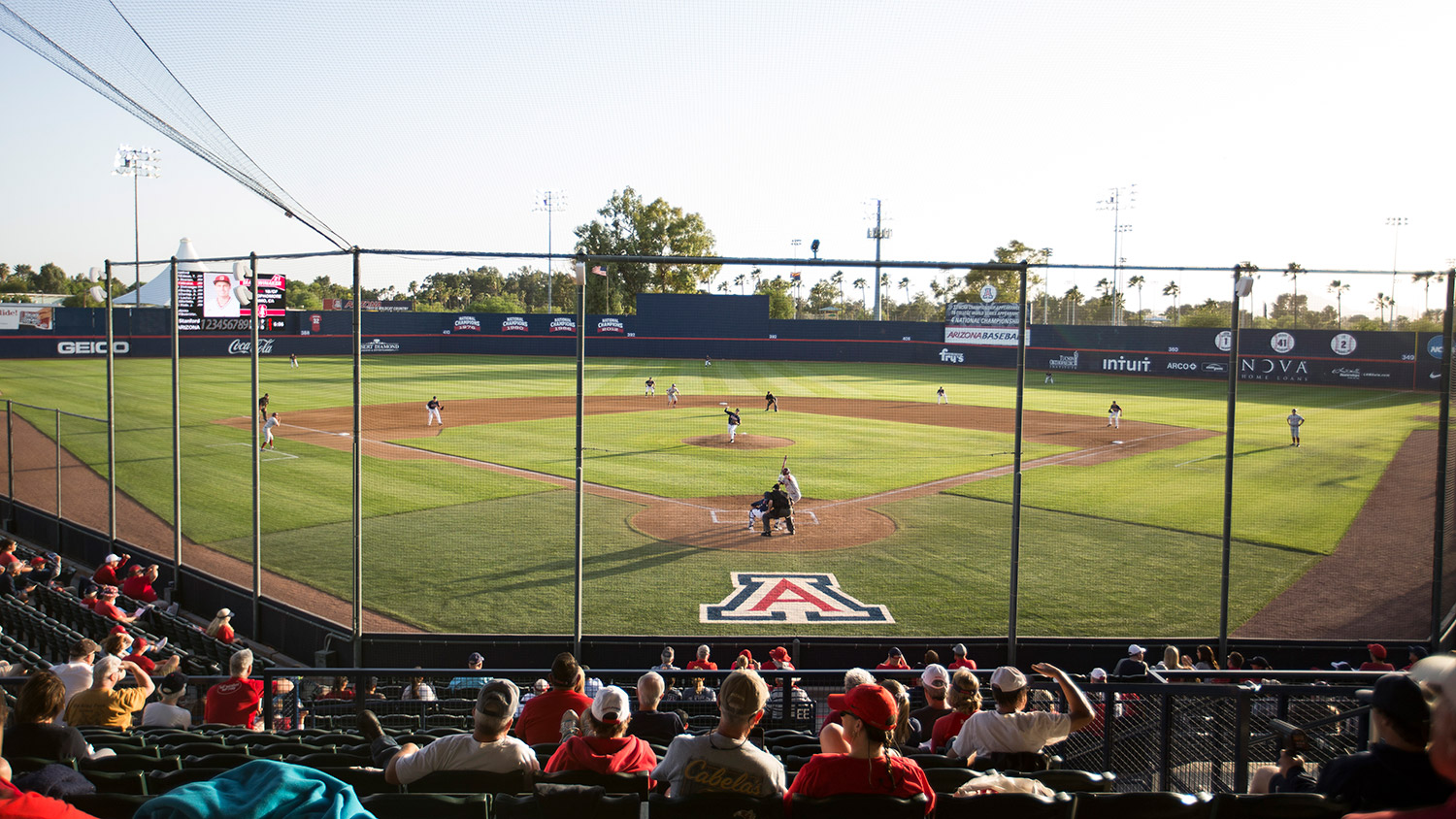 Hi Corbett Field Baseball Facilities University Of Arizona Athletics