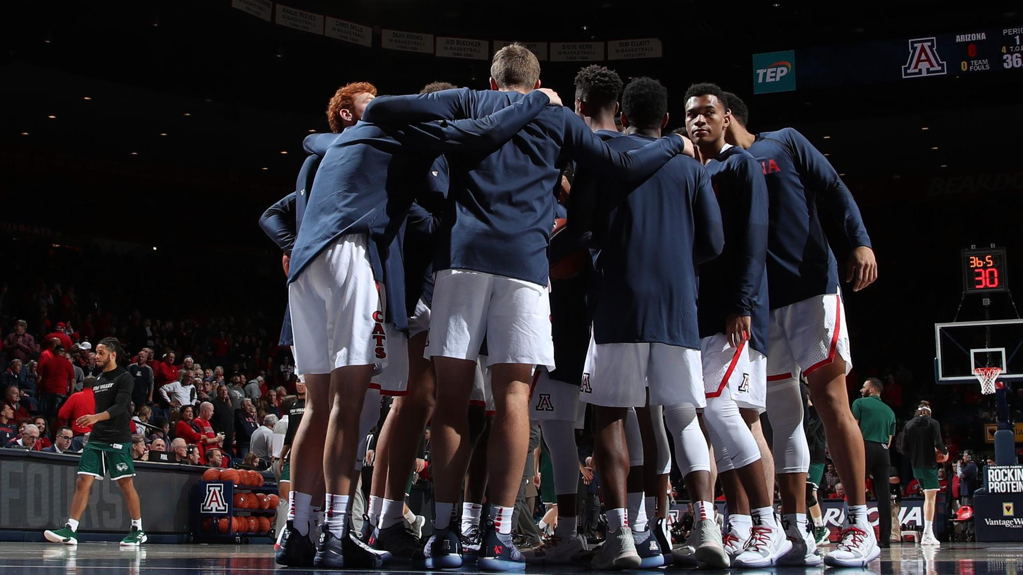 af1581206 Cats Host Baylor for Saturday Night Showdown at McKale - University ...