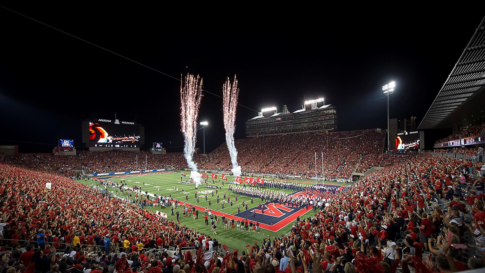 Arizona Athletics to Offer Beer and Wine at Football Games