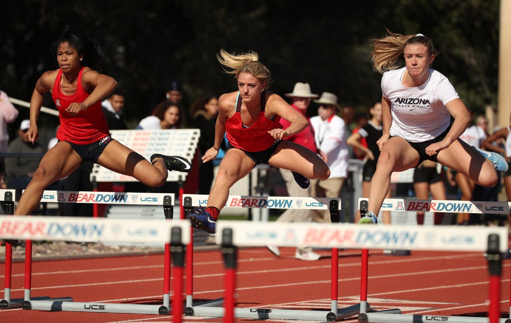 Track And Field University Of Arizona Athletics - Us-track-and-field-map-it